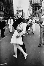 V-J Day Kiss, Aug. 14, 1945
