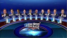 Fox News GOP Candidate Debate, Aug. 6, 2015
