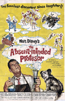 'The Absent-Minded Professor', 1961