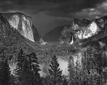 'Thunderstorm, Yosemite Valley' by Ansel Adams (1902-84), 1945