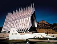 U.S. Air Force Academy Chapel, 1962