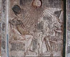 Stela of Akhenaten and His Family