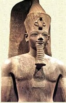 Egyptian Pharaoh Amenhotep III (d. -1351)