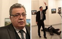 Assassination of Russian ambassador Andrei Karlov (1954-2016), Dec. 19, 2016