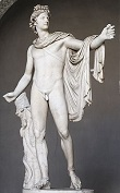 Apollo Belvedere by Leochares, -350