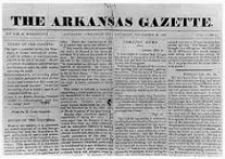 Arkansas Democrat-Gazette, 1819