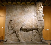 Assyrian Winged Bull, -721