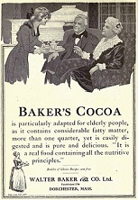 Baker's Chocolate, 1764