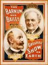 Barnum and Bailey Greatest Show on Earth Flyer