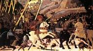 'The Battle of San Romano' by Paolo Uccello (1397-1475), 1438-40)