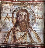 'Bearded Christ' in the Catacombs of Commodilla