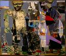'Return of the Prodigal Son' by Romare Bearden (1911-88), 1967