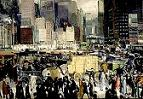 'New York' by George Wesley Bellows, 1911