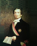 Baron Bettino Ricasoli of Italy (1809-80)