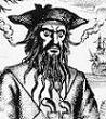 Blackbeard the Pirate (Edward Teach) (-1718)