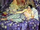 'The Blue Room' by Suzanne Valadon, 1923