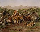 'Weaning the Calves' by Rosa Bonheur, 1879