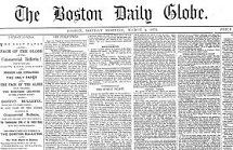 The Boston Globe, 1872