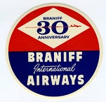 Braniff Internat. Airways Logo
