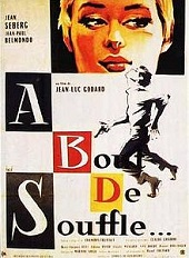 'Breathless' by Jean-Luc Godard (1930-), 1960