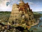 'The Tower of Babel' by Pieter Brueghel the Elder (1525-69), 1563