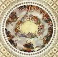 'The Apotheosis of Washington' by Constantino Brumidi (1805-80), 1865