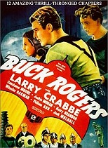 'Buck Rogers', starring Buster Crabbe (1908-83), 1939