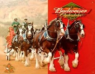 Budweiser Clydesdales, 1933