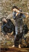 'The Beguiling of Merlin' by Sir Edward Coley Burne-Jones (1833-98), 1874