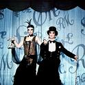 'Cabaret', starring Liza Minnelli (1946-) and Joel Grey (1932-), 1972