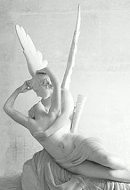 'Psychie Revived by Love's Kiss' by Antonio Canova (1757-1822), 1787