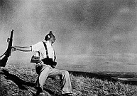 'The Falling Soldier, Sept. 5, 1936', by Robert Capa (1913-54)