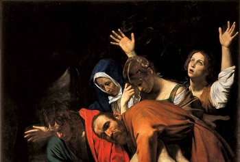 'The Entombment of Christ', by Caravaggio (1571-1610), 1603