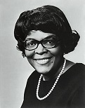 Cardiss Collins of the U.S. (1931-2013)