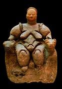 Seated Woman of Catal Huyuk