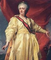 Russian Tsar Catherine II the Great (1729-96)