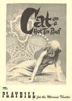 'Cat on a Hot Tin Roof', 1955
