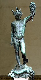 'Perseus with the Head of Medusa' by Benvenuto Cellini (1500-71), 1545-54