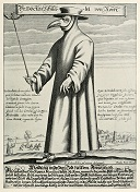 'The Doctor Schnabel von Nour' by Charles de Lorme (1584-1678), 1619