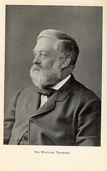 Sir Charles Wyville Thomson (1830-82)