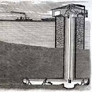 Chicago Lake Tunnel, 1864-7