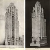 Chicago Tribune Bldg., 1923-5