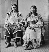 Chief Ouray (1833-80) and Chipeta (1843-1924)