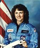 Christa McAuliffe of the U.S. (1948-86)