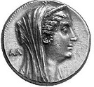 Cleopatra Thea of Egypt (-164 to -121)