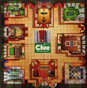 Clue Board Game, 1944