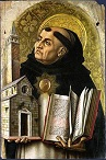 'Portrait of St. Thomas Aquinas' by Carlo Crivelli (1430-95), 1476