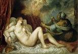 'Danae and the Shower of Gold' by Titian (1477-1576), 1554