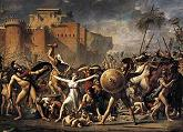 'The Intervention of the Sabine Women' by Jacques-Louis David, 1799