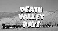 'Death Valley Days', 1952-70